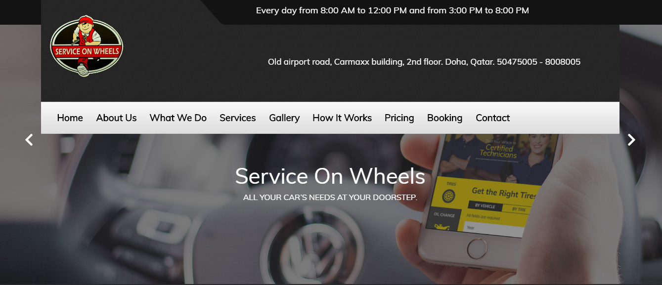 Services On Wheels